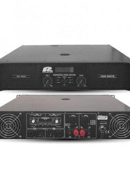 Hipercentro Electronico Amplificador Potencia de audio 4000 watts GX4000 PA Pro Audio