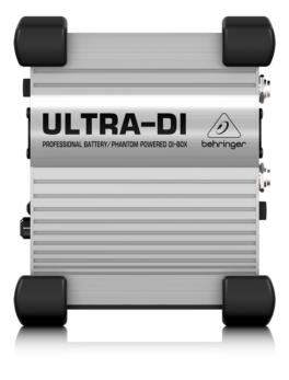 Caja directa activa para instrumentos DI100 Behringer