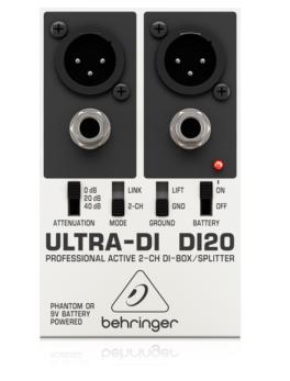 Caja Directa Activa para instrumentos Doble DI20 Behringer
