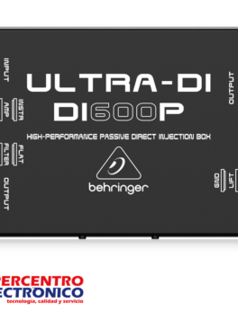 Caja directa pasiva para instrumentos DI600P Behringer
