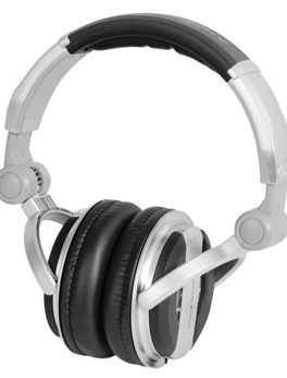 Audífonos plegables para monitoreo dj multimedia HP700 American Audio