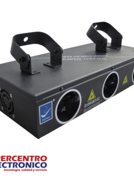 Luz láser RGB B10RGB3 Big Dipper con 3 módulos de scanner XY
