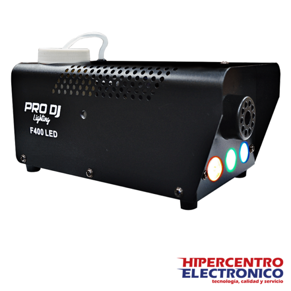 Máquina de humo con leds RGB F4000LED Pro Dj