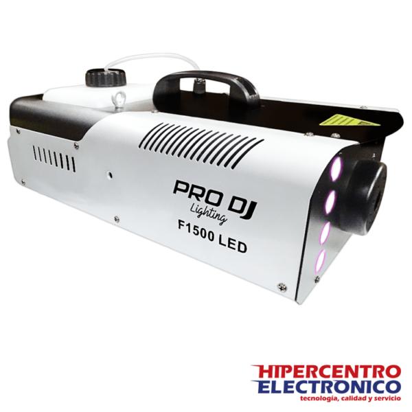 Máquina de humo con iluminación LED F1500LED-DMX Pro Dj
