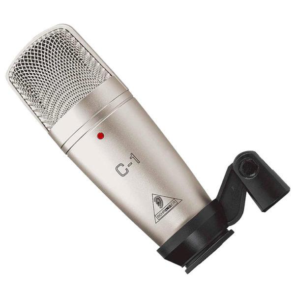 Hipercentro Electronico microfono condensador grabacion estudio home c1 behringer