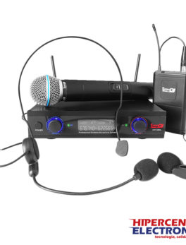 Microfono inalámbrico vocal doble UHF32MHL Pro Dj