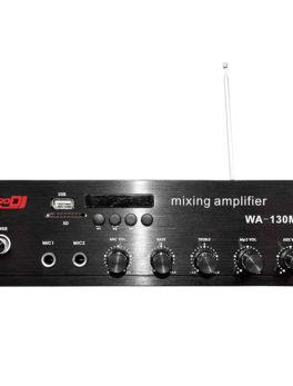 Amplificador de línea o ambiental potencia 100 watts WA-130MF Pro Dj