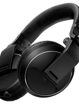 Hipercentro Electronico audifonos de diadema para dj monitoreo retorno resistentes giratorios negros HDJX5 Pioneer
