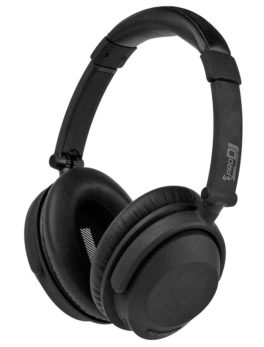 Hipercentro Electronico audifonos diadema dj monitoreo evento live negro bluetooth NC10B-BT Pro Dj