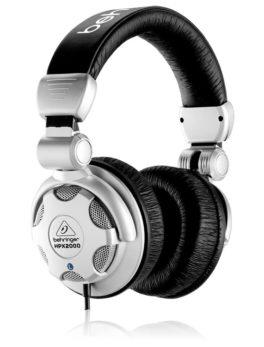 Hipercentro Electronico audifonos diadema para dj estudio grabacion escenario HPX2000 Behringer