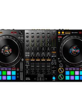 Hipercentro Electronico controlador MIDI Dj rekordbox 4 canales DDJ1000 Pioneer