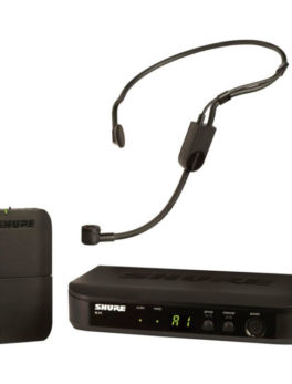 Hipercentro Electronico micrófono inalámbrico profesional de diadema conferencias eventos en vivo SHURE BLX14/P31