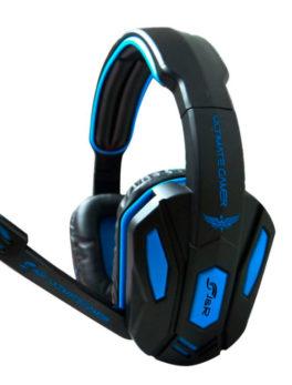 Audífonos de diadema con micrófono para gamer JYR 023-MV