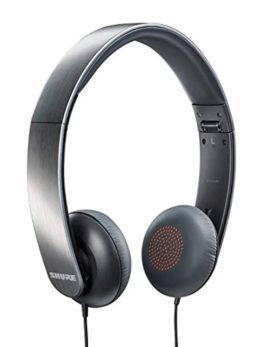 Hipercentro Electronico audifonos portatiles de sonido profesional SHURE SRH145, DJ, produccion