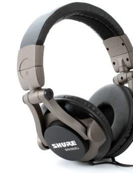 Hipercentro Electronico audífonos profesionales para dj alta calidad de sonido SHURE SRH550DJ