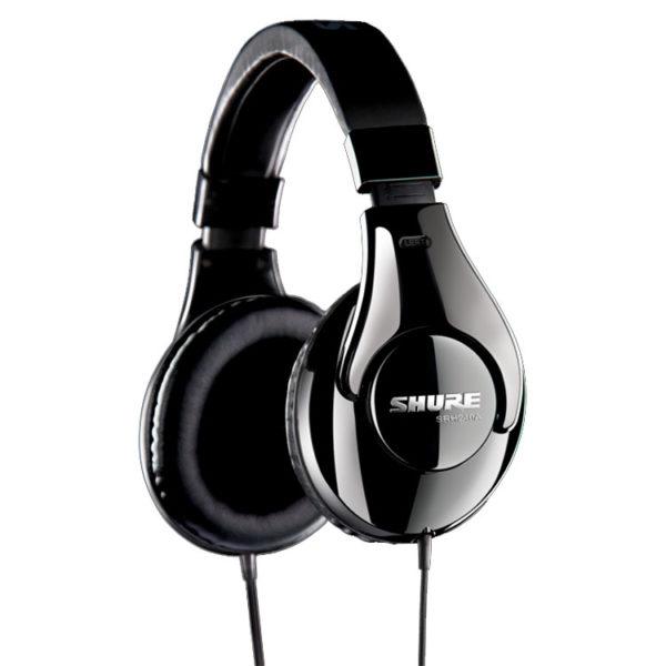 Hipercentro Electronico audifonos profesionales para dj grabacion produccion SHURE SRH 240A
