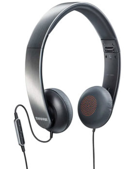 Hipercentro Electrónico audífonos con control de volumen y micrófono para móviles SHURE SRH 145M+