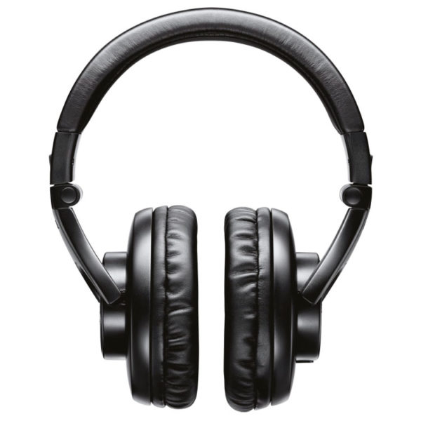 Hipercentro Electrónico audífonos de calidad profesional grabacion dj monitoreo producción SHURE SRH440 negros
