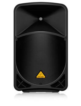 Hipercentro Electronico bafle parlante cabina altavoz activo mp3 mezclador 2 canales 15 pulgadas 1000 watts B115MP3 Behringer