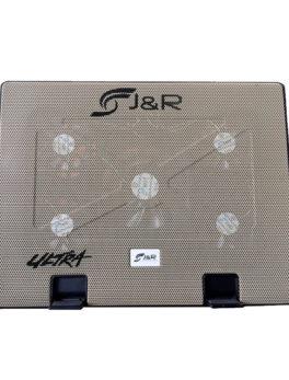 Hipercentro Electronico base refrigerante de 5 ventiladores para portátil JYR BRJR 010