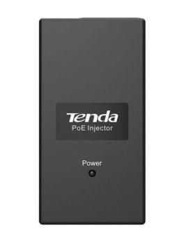 Hipercentro Electronico inyector PoE internet TENDA TE-POE15F