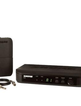 Hipercentro Electronico micrófono inalámbrico profesional para guitarra SHURE BLX14