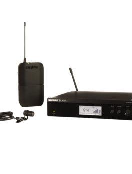 Microfono inalambrico de solapa profesional cardioide alta calidad SHURE BLX14R/W85