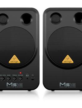 Hipercentro Electronico monitores estudio grabacion parlantes altavoces multimedia activos par MS16 Behringer