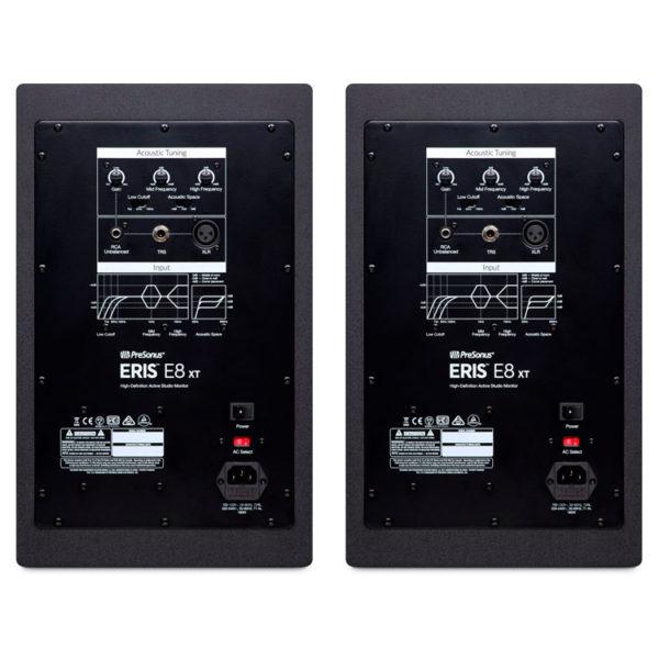 Hipercentro Electronico monitores para estudio de grabación profesionales PRESONUS ERISE8 XT