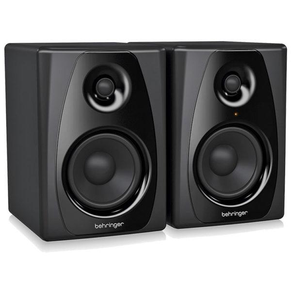 Hipercentro Electronico monitores para estudio digital grabacion retorno multimedia biamplificados STUDIO 50USB Behringer