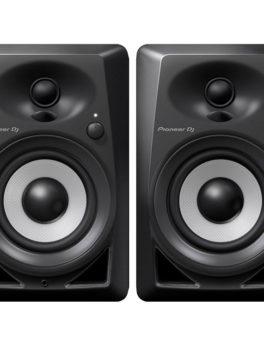 Hipercentro Electronico monitores para estudio grabacion retorno multimedia live bluetooth negros DM-40BT Pioneer