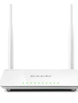 Hipercentro Electronico router inalambrico de 2 antesnas TENDA TE-F300