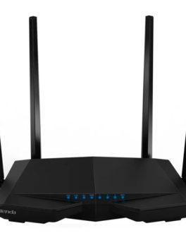 Hipercentro Electronico router inalambrico de doble banda 4 antenas TENDA TE-AC6