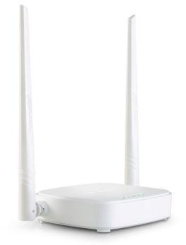 Hipercentro Electronico router inalambrico para señal de WiFi 2 antenas TENDA TE-N301