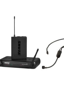 Hipercentro Electronico micrófono inalámbrico de diadema profesional SHURE SVX14/PGA31