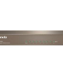 Hipercentro Electronico switch de 8 puertos para señal de internet TENDA TE-TEG1008G