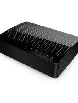 Hipercentro Electronico switch de 5 puertos TENDA TE-SG105