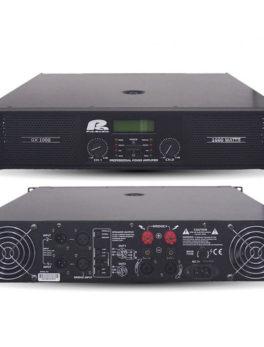 Hipercentro Electronico amplificador o planta de sonido PROAUDIO GX1000