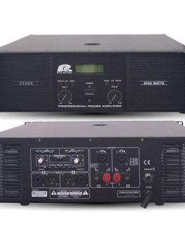 Hipercentro Electronico amplificador de sonido profesional PROAUDIO GX6000
