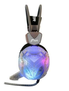 Hipercentro Electronico audífonos gamer con micrófono e iluminación led JYR 035-MV