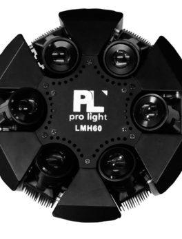 Hipercentro Electronico cabeza móvil robótica con láser RGB PROLIGTH LMH60