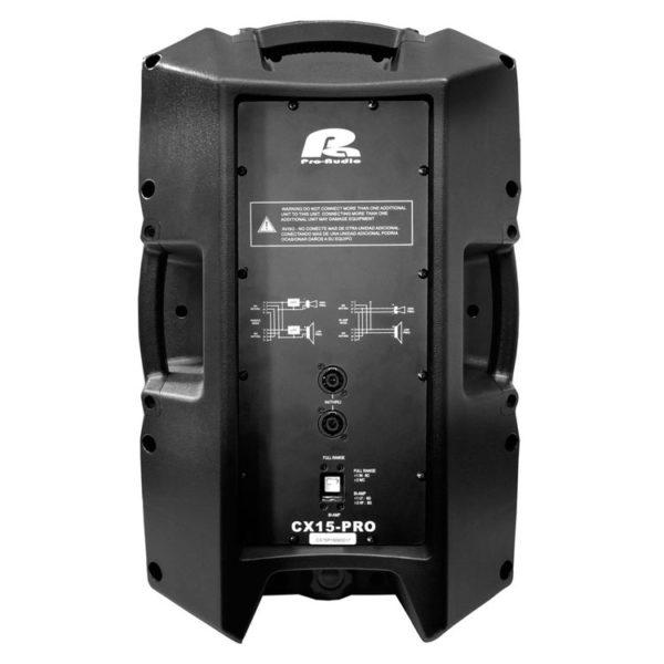 "Hipercentro Electronico cabina pasiva de 15"" 400W PROAUDIO GX15-PRO"