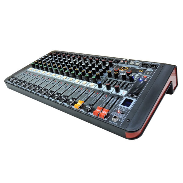 Hipercentro Electrónico consola análoga de 12 canales con usb y bluetooth PROAUDIO MIX 12