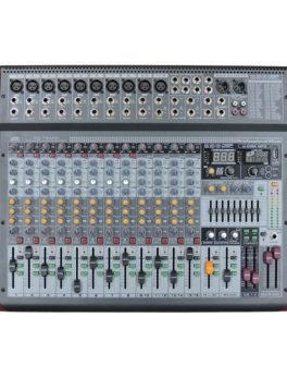 Hipercentro Electronico consola análoga pasiva de 16 canales PROAUDIO MX-16USB