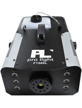 Hipercentro Electronico maquina de humo de 1500 con luces led PRLIGTH F1500L