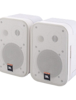 Hipercentro Electronico monitores pasivos para estudio color blanco JBL CONTROL 1