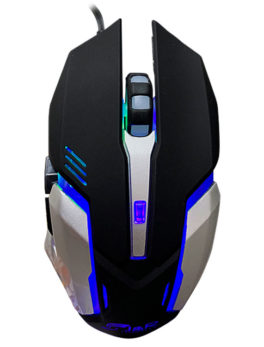 Hipercentro Electronico mouse gamer con luces led JYR MGJR-042