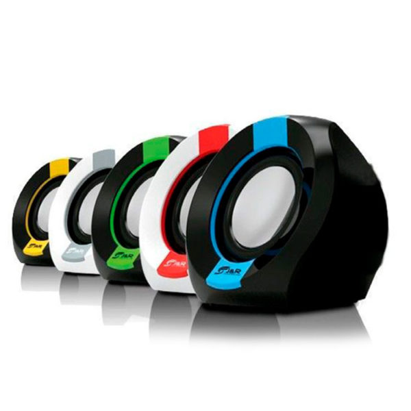 Hipercentro Electronico parlantes para pc de colores JYR J5142