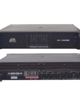 Hipercentro Electronico planta o amplificador de sonido de alta potencia PRO AUDIO GX10000Q MKII