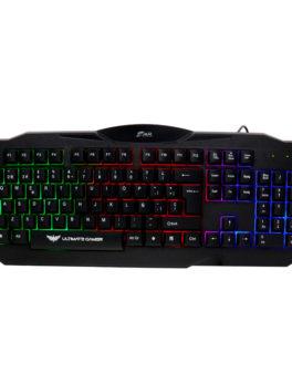 Hipercentro Electronico teclado gamer de luces RGB JYR TGMJR-009